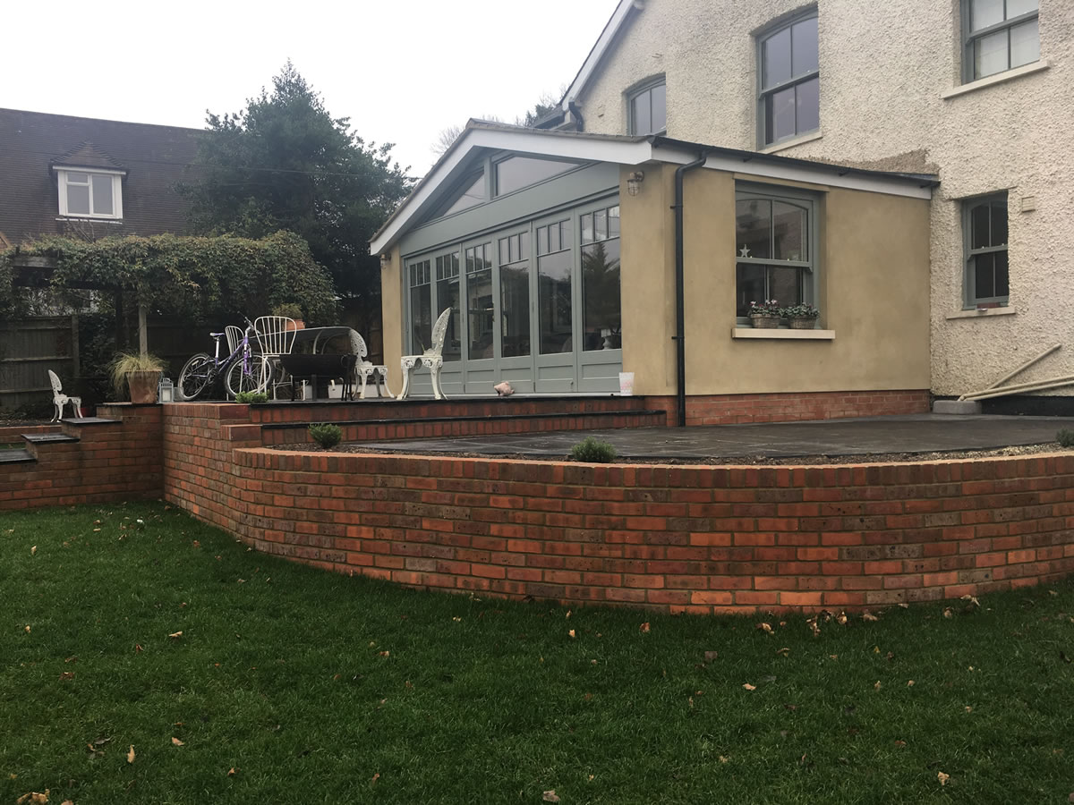 Kitchen extension in thame