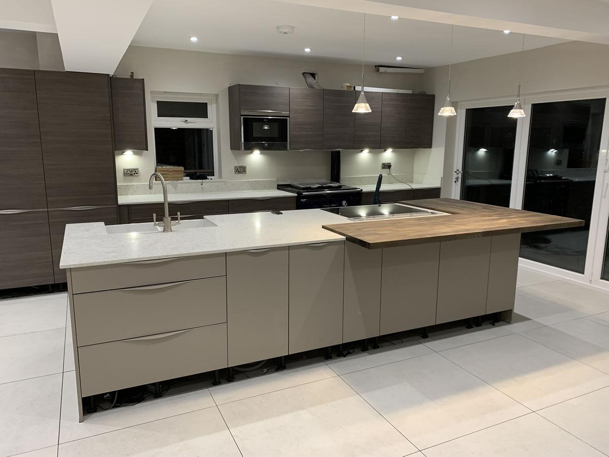 New kitchen in Lane End