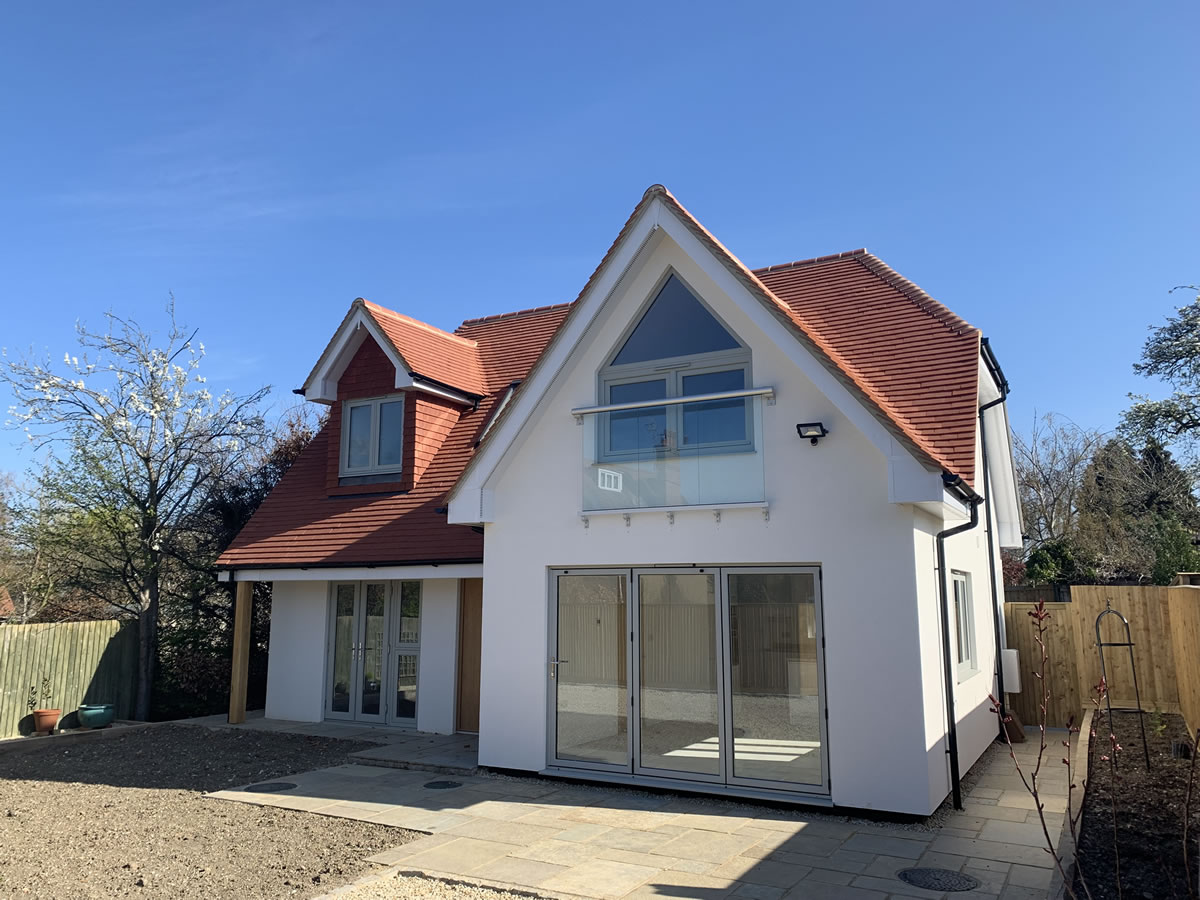 New build in Towersey
