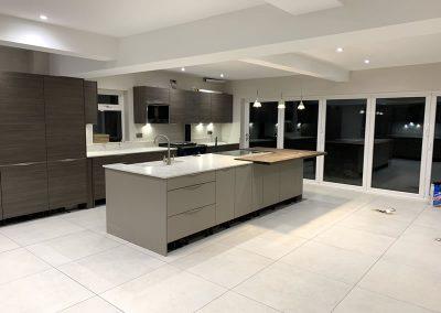 Installed new kitchen in Buckinghamshire