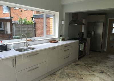 Extension with kitchen in Thame