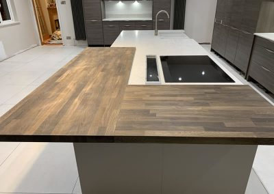 Contemporary kitchen in Bucks
