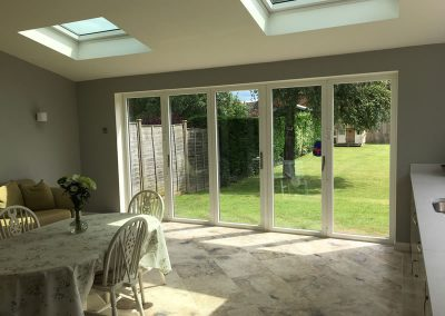 Extension with bifolds in Thame