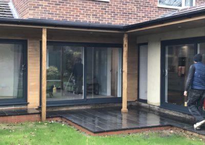 Extension with bifold doors in Haddenham